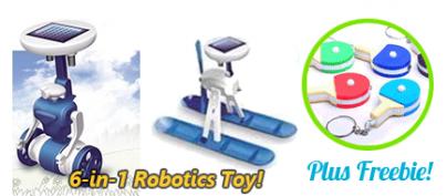 6-in-1 Robotics Toy V2 (32% Off!)