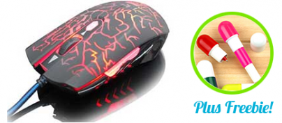 Epic Five-Color Glowing Mouse (61% Off!)