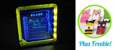 11-Inch Useful LED Message Board (58% Off!)
