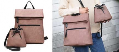 2pc Korean Casual Multi-Functional Bags (50% Off!)