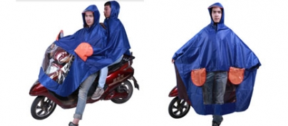 Dual Motorcycle Raincoat (50% Off!)