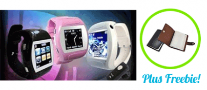 ₱2400 Discount for the (Classic Version) Watch-Phone with Touchscreen by nomadnine.com (48% Off!)