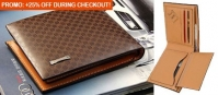 Luxury Genuine Leather Wallet (55% Off!)